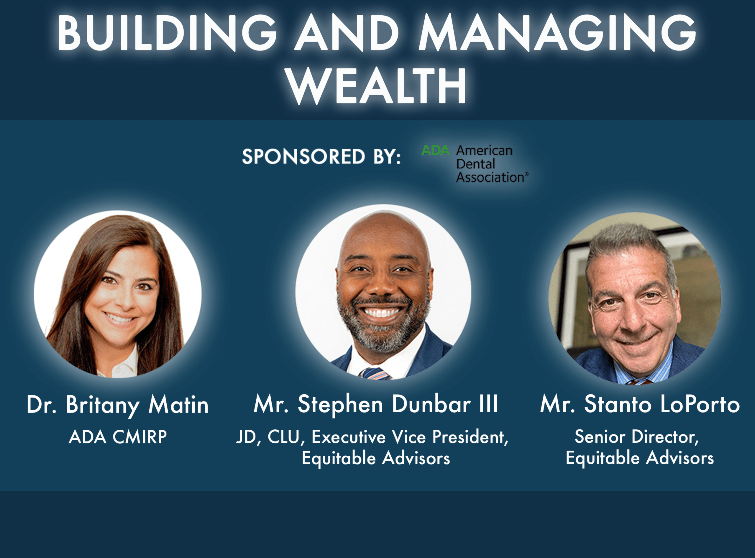Building and Managing Wealth